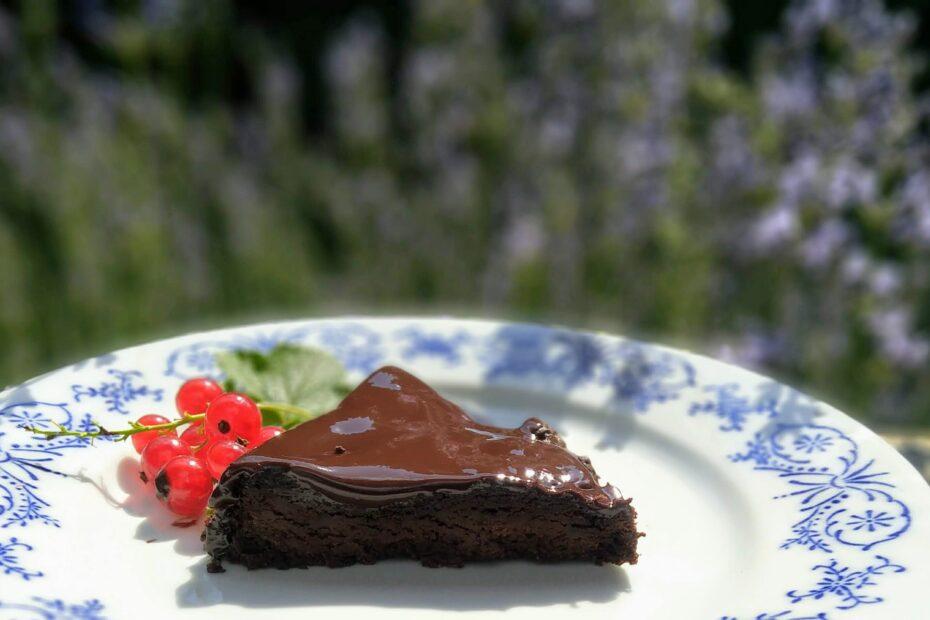 čoko dort bez cukru