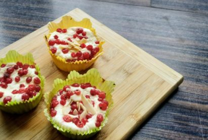 tvarohový muffin