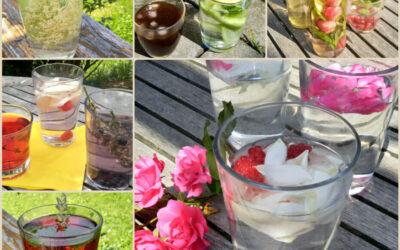 Letní pití bez cukru